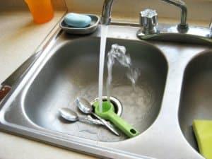 sink, kitchen, faucet
